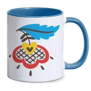 Chatty Flower Mug - Blue