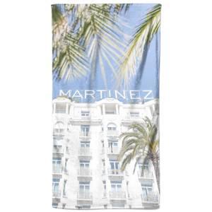 Hotel Martinez First Visit Beach Towel