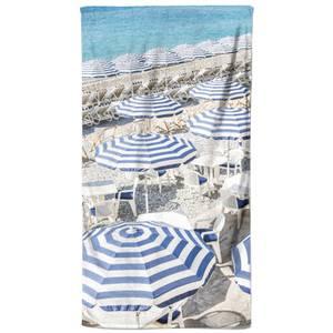 Striped Holidays Beach Towel