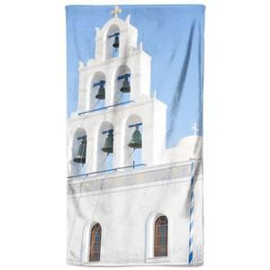 Marble Bell Tower Beach Towel