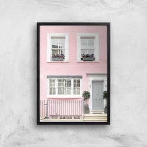 Pink Walls Giclee Art Print