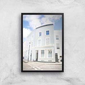 London Corner Giclee Art Print