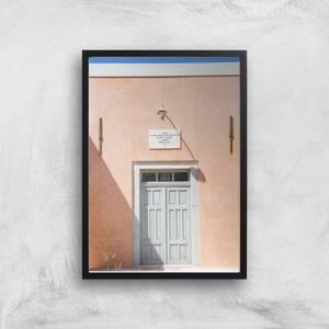Santorini Secrets Giclee Art Print