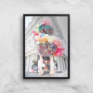 London Colours Giclee Art Print