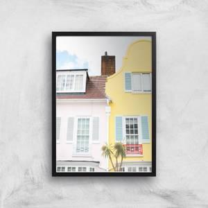 London Tropics Giclee Art Print
