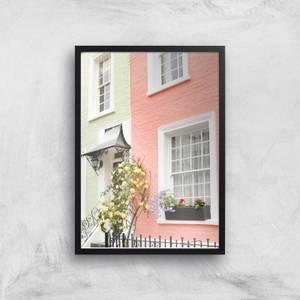 Plastel London Giclee Art Print