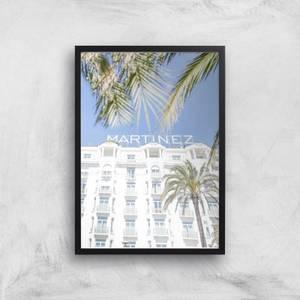 Hotel Martinez Giclee Art Print