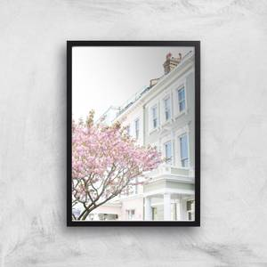 Notting Hill In Bloom Giclee Art Print