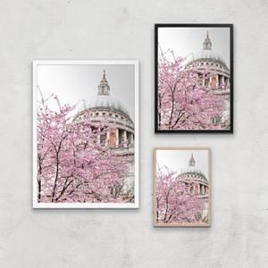 London Site Seeing Giclee Art Print