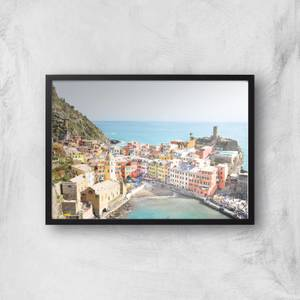 Santorini Summer Giclee Art Print