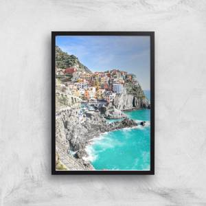 Living By The Sea Giclee Art Print