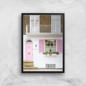 The Pink Door Giclee Art Print