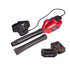 Cordless Leaf Blower, 6Ah Battery & Charger Bundle