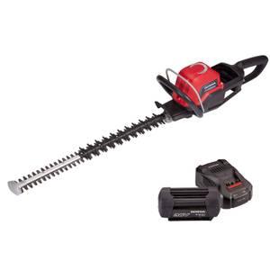 Cordless Hedgetrimmer, 6Ah Battery & Charger Bundle