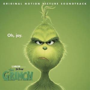 Dr. Seuss' The Grinch (Original Motion Picture Soundtrack) LP (Clear with Red & White Swirl)