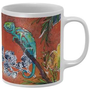 Snowtap Chameleons Mug