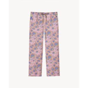Women's Hazy Daisy Pyjama Bottoms - Spectrum Blue