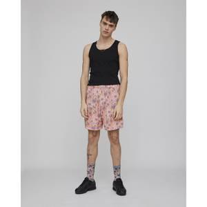 Hazy Daisy Long Pyjama Shorts - Spectrum Blue