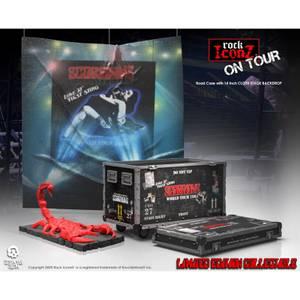 Knucklebonz Scorpions Road Case On Tour Figure