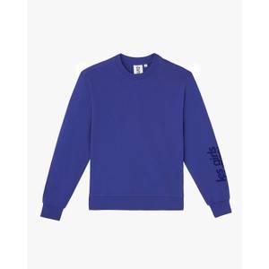Crew Neck Sweatshirt - Spectrum Blue