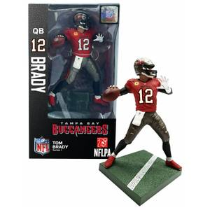NFL Series 1 Tampa Bay Buccaneers TB12 Tom Brady 7 Inch Action Figure