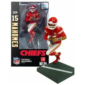 NFL Series 1 Kansas City Chiefs Patrick Mahomes 7 Inch Action Figure