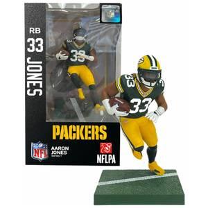 NFL Series 1 Green Bay Packers Aaron Jones 7 Inch Action Figure
