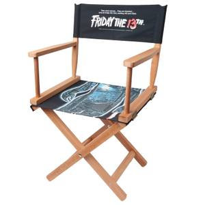 Decorsome x Friday the 13th Classic Poster Directors Chair