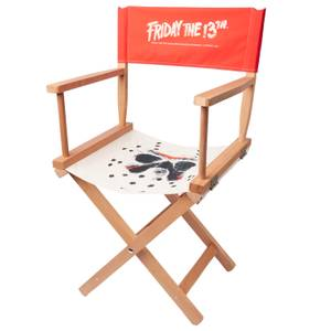 Decorsome x Friday the 13th Jason Voorhees Directors Chair