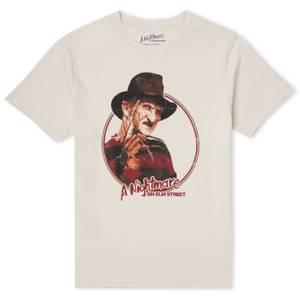 A Nightmare On Elm Street Freddy Vintage Unisex T-Shirt - Cream