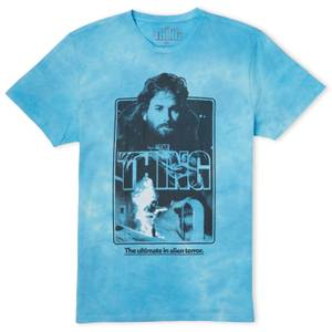 The Thing Nobody Trusts Anybody Unisex T-Shirt - Turquoise Tie Dye