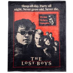 The Lost Boys Fun To Be A Vampire  Fleece Blanket