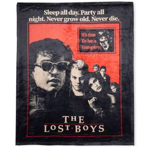 The Lost Boys Fun To Be A Vampire  Bed Throw