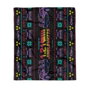 Back To The Future Jingle Watts Fleece Blanket