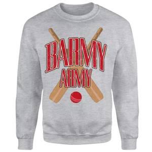 Barmy Army Unisex Sweatshirt - Grey