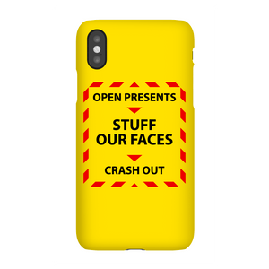 Christmas Government Guidelines Phone Case for iPhone and Android