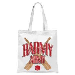 Barmy Army Tote Bag - White