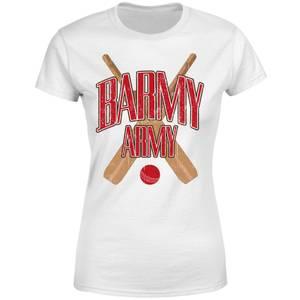 Barmy Army Women's T-Shirt - White