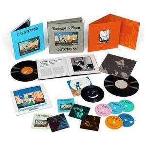 """Yusuf / Cat Stevens - Teaser & The Firecat Super Deluxe Edition Box Set (4CD + 1BD + 2LP + 7"""")"""