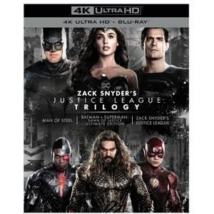 Trilogie Justice League de Zack Snyder - Édition Collector 4K Ultra HD