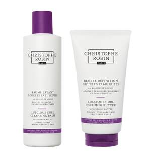 Luscious Curl Regimen for Curly to Coily Hair (worth £61)