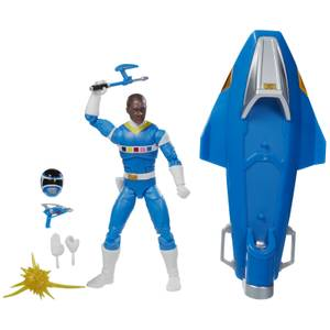 Hasbro Power Rangers Lightning Collection In Space Blue Ranger & Galaxy Glider Figure