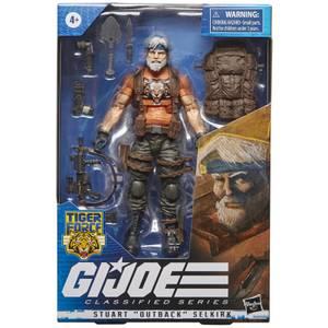 "Hasbro G.I. Joe Classified Series Stuart ""Outback"" Selkirk Action Figure"