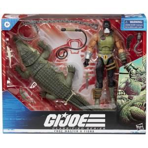 Hasbro G.I. Joe Classified Series Croc Master & Fiona Action Figure