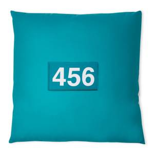 Squid Game Player 456 Square Cushion