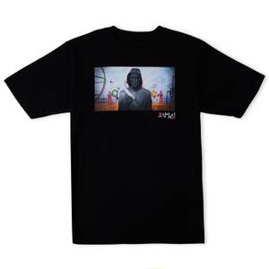 Squid Game The Leader Oversized Heavyweight T-Shirt - Black