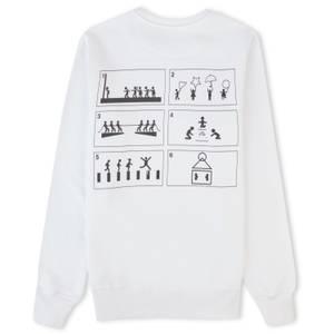 Squid Game Game Play Sweatshirt - White
