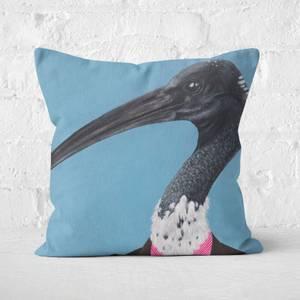 Ibis In Suit Square Cushion