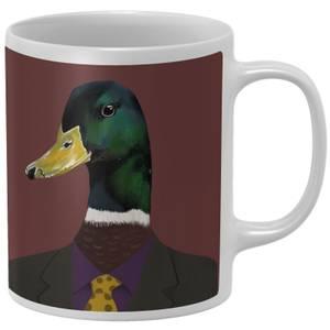 Duck In Suit Mug
