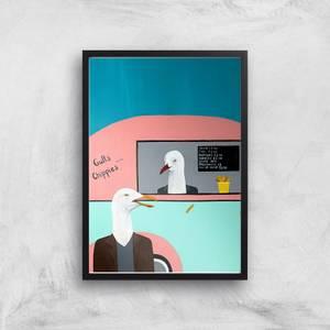 Gulls Chippies Giclee Art Print